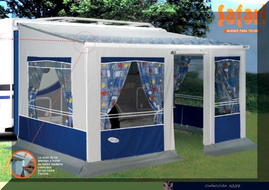 venta de caravanas en camping:
