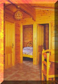 Casas de madera fabricacion de bungalows y casa de - Casas de madera por dentro ...